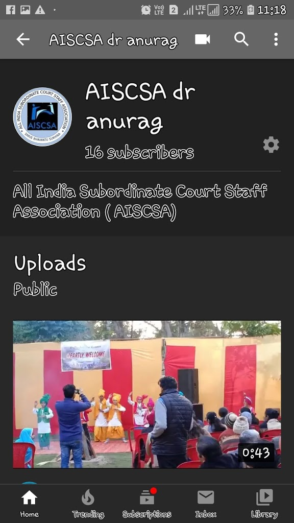 AISCSA Youtube channel